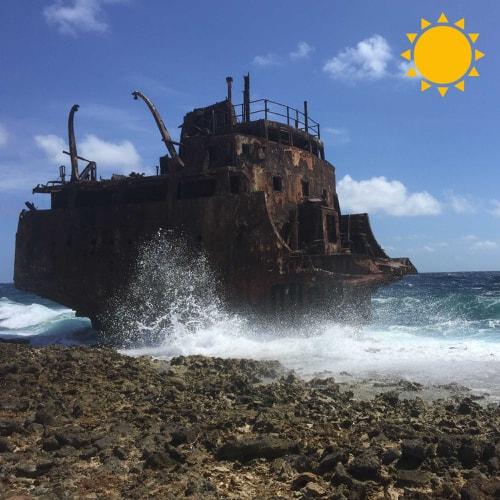 shipwreck klein curacao